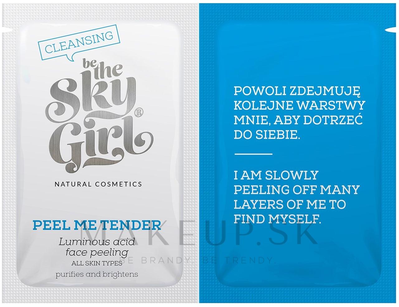 Peeling na tvár - Be The Sky Girl Super Star Peel Me Tender — Obrázky 2 x 4 g