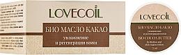 """Voňavky, Parfémy, kozmetika Kakaový bio olej """"Hydratácia a regenerácia pokožky"""" - ECO Laboratorie Lovecoil Bio Cocao Seed Butter"""