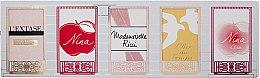 Voňavky, Parfémy, kozmetika Nina Ricci L'Extase Gift Set - Sada (edp 4ml + edt 4ml + edp 4ml + edt 4ml + edt 4ml)