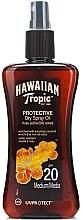 Voňavky, Parfémy, kozmetika Suchý olej na opaľovanie - Hawaiian Tropic Protective Dry Oil SPF20