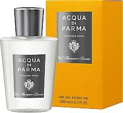 Voňavky, Parfémy, kozmetika Acqua di Parma Colonia Pura Hair and Shower Gel - Sprchový gél