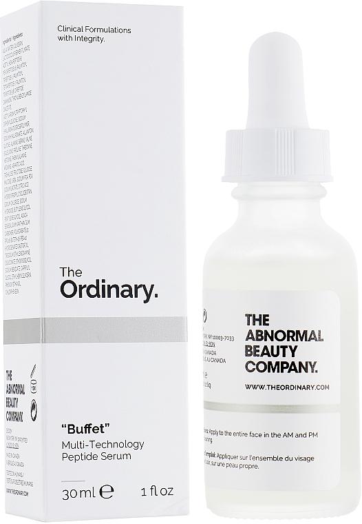 Peptidové sérum na tvár - The Ordinary Buffet Multi-Technology Peptide Serum