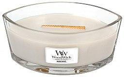 Voňavky, Parfémy, kozmetika Vonná sviečka v pohári - WoodWick Hearthwick Flame Ellipse Candle Warm Wool