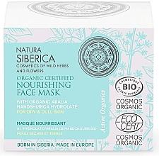 Voňavky, Parfémy, kozmetika Výživná pleťová maska pre suchú a matnú pokožku - Natura Siberica Organic Certified Nourishing Face Mask