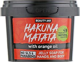 """Voňavky, Parfémy, kozmetika Mydlo """"Hakuna Matata"""" - Beauty Jar Jelly Soap For Hands And Body"""