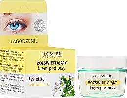 Voňavky, Parfémy, kozmetika Zosvetľujúci krém pod oči s vitamínom C - Floslek