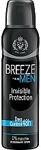 Voňavky, Parfémy, kozmetika Breeze Deo Invisible Protection - Dezodorant na telo
