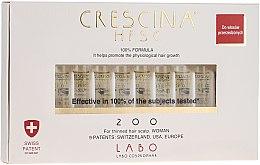 Voňavky, Parfémy, kozmetika Lotionový koncentrát na obnovenie rastu vlasov u žien - Labo Crescina HFSC Re-Growth 200