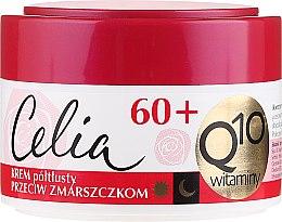 Voňavky, Parfémy, kozmetika Polomastný omladzujúci krém na tvár - Celia Q10 Face Cream 60+
