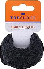 Voňavky, Parfémy, kozmetika Gumičky do vlasov, 66498, čierna a tmavošedá - Top Choice