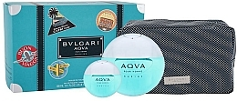 Voňavky, Parfémy, kozmetika Bvlgari Aqva Pour Homme Marine - Sada (edt/100ml + edt/mini/15ml + bag)