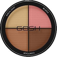Voňavky, Parfémy, kozmetika Kontúrovacia paleta - Gosh Contour Strobe Kit
