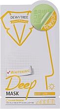 Voňavky, Parfémy, kozmetika Bieliaca pleťová maska s citrónovou trávou - Dewytree Whitening Deep Mask