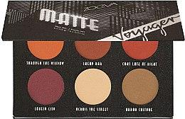 Voňavky, Parfémy, kozmetika Paleta očných tieňov - Zoeva Voyager Matte Eyeshadow Palette