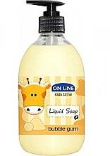 Voňavky, Parfémy, kozmetika Tekuté mydlo - On Line Kids Time Liquid Soap Bubble Gum