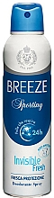 Voňavky, Parfémy, kozmetika Breeze Deo Sporting - Dezodorant na telo
