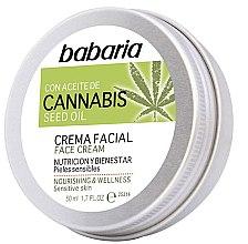 Voňavky, Parfémy, kozmetika Krém na tvár - Babaria Cannabis Seed Oil Face Cream