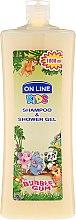 """Voňavky, Parfémy, kozmetika Šampónový sprchový gél """"Žuvačka"""" - On Line Kids Shampoo & Body Wash Bubble Gum"""