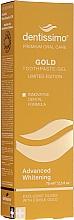 Voňavky, Parfémy, kozmetika Beliaca gélová zubná pasta - Dentissimo Advanced Whitening Gold Toothpaste