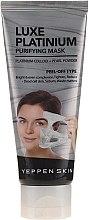 Voňavky, Parfémy, kozmetika Zlupovacia maska na vyrovnanie tónu pleti s koloidnou platinou - Yeppen Skin Purifying Mask Luxe Platinum Peel-off