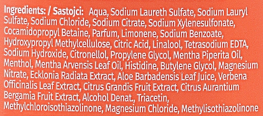 Šampón pre tenké vlasy - Herbal Essences White Grapefruit & Mosa Mint Shampoo — Obrázky N3