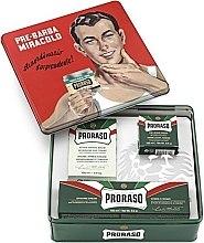 "Voňavky, Parfémy, kozmetika Sada - Proraso Classic Shaving Metal Green ""Gino"" (pre/cr/100ml + sh/cr/150ml + ash/cr/100ml)"