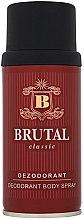 Voňavky, Parfémy, kozmetika La Rive Brutal Classic - Dezodorant