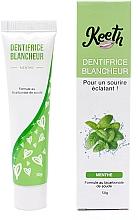 Voňavky, Parfémy, kozmetika Bieliaca zubná pasta s príchuťou mäty - Keeth Mint-flavoured Whitening Toothpaste