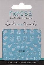 Voňavky, Parfémy, kozmetika Nálepky na nechty, 3683, MJ167 - Neess