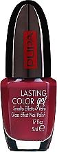 Voňavky, Parfémy, kozmetika Lak-gél na nechty so skleneným efektom - Pupa Lasting Color Gel