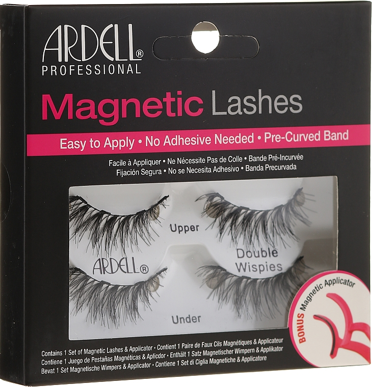 Falošné riasy - Ardell Magnetic Strip Lash Double Wispies
