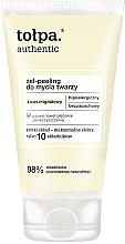 Voňavky, Parfémy, kozmetika Gélový peeling na tvár - Tolpa Authentic Peel Gel
