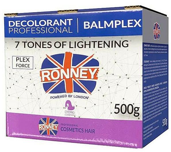 Púder na zosvetlenie vlasov až o 7 tónov - Ronney BalmPlex 7 Tones Of Lightening — Obrázky N1