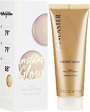 Voňavky, Parfémy, kozmetika Maska pre žiarivosť pokožky - Lancaster Instant Glow Gold Peel-Off Mask