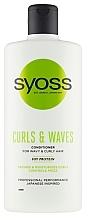 Voňavky, Parfémy, kozmetika Kondicionér na kučeravé a vlnité vlasy - Syoss Curls & Waves Conditioner With Soi Protein
