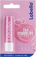 """Voňavky, Parfémy, kozmetika Balzam na pery """"Jemná ruža"""" - Labello Lip Care Soft Rose Lip Balm"""