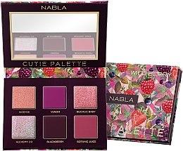 Voňavky, Parfémy, kozmetika Paleta očných tieňov - Nabla Cutie Collection Palette Wild Berry