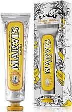 Voňavky, Parfémy, kozmetika Osviežujúca zubná pasta - Marvis Rambas Limited Edition Toothpaste
