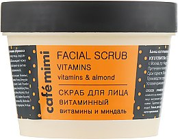 """Voňavky, Parfémy, kozmetika Peeling na tvár """"Vitamín"""" - Cafe Mimi Facial Scrub Vitamins"""