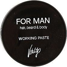 Voňavky, Parfémy, kozmetika Matná vlasová pasta - Vitality's For Man Working Paste