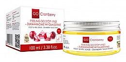 Voňavky, Parfémy, kozmetika Scrub na nohy a chodidlá - GoCranberry Cranberry Smoothing Foot & Heel Scrub