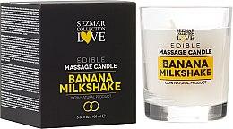 """Voňavky, Parfémy, kozmetika Prírodná sviečka na masáž """"Banana"""" - Sezmar Collection"""