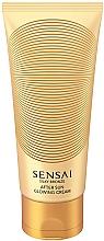 Voňavky, Parfémy, kozmetika Trblietavý krém na telo - Kanebo Sensai Silky Bronze After Sun Glowing Cream