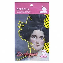 Voňavky, Parfémy, kozmetika Dvojkrokový systém starostlivosti o tvár - Oerbeua So Elegant Mask Sheet