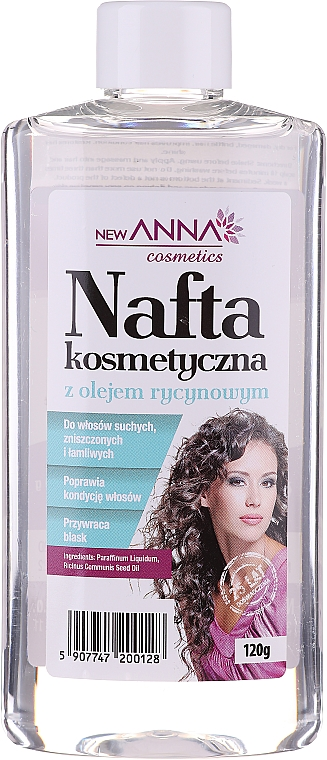 """Kondicionér na vlasy """"Petrolej s ricínovým olejom"""" - New Anna Cosmetics"""