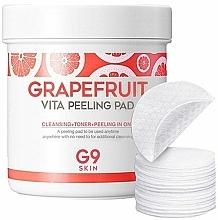 Voňavky, Parfémy, kozmetika Peelingové tampóny na čistenie pleti s grapefruitom - G9Skin Grapefruit Vita Peeling Pad