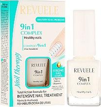 """Voňavky, Parfémy, kozmetika Komplex 9 v 1 pre nechty """"Zdravie nechtov"""" - Revuele Nail Therapy"""