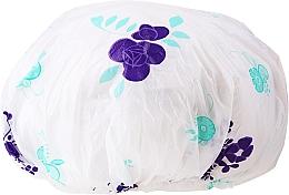 Voňavky, Parfémy, kozmetika Sprchová čiapka, 9298, bielo-fialová - Donegal Shower Cap
