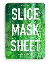 """Voňavky, Parfémy, kozmetika Plátková maska na tvár """"Uhorka"""" - Kocostar Slice Mask Sheet Cucumber"""