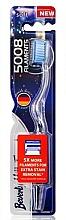 Voňavky, Parfémy, kozmetika Mäkká zubná kefka, modrá - Beverly Hills Formula 5008 Filament Multi-Colour Toothbrush